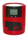 GBR Red Bevometer Can Cooler