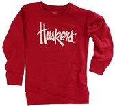Girls Crossover Huskers Top