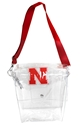 Husker Clear Ticket Satchel