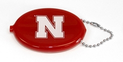Husker Football Squeeze Coin Purse