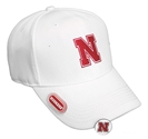 Husker Honeycomb Links Cap - White