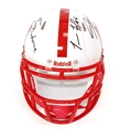 Husker Tom's Autographed Mini Speed Helmet
