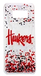 Huskers Galaxy S8 Confetti Clear Slim Case