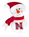 Huskers Plush Mini Snowman