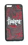 Huskers iPhone 6+ Paisley Bumper Case