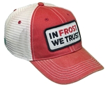 In Frost We Trust Trucker - Red