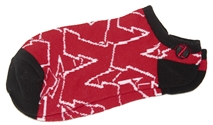 Iron N Stacked Logo Crew Sock