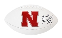 Jordan Westerkamp Autographed Football