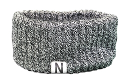 Lady Huskers Marled Knit Earband