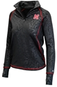 Lady Huskers Tonal Quarter Zip
