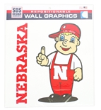 Lil Red Nebraska Wall Graphic 2 Pack