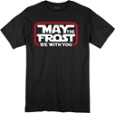 Youth May The Frost Be With You Tee - Black