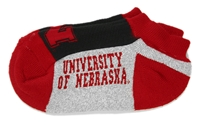 Mens Ankle University of Nebraska Sock