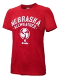 Nebraska All-Weather Fan Tee