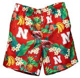 Nebraska Floral Walking Shorts