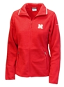 Nebraska Gals Full Ridge Fleece Jacket