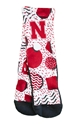 Nebraska Geometric Rockem Socks