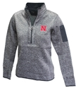Nebraska Women Half Zip Antigua Jacket