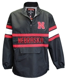 Nebraska Quarter Zip Windshell Jacket