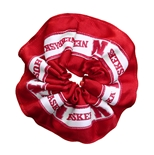 Nebraska Ribbon Scrunchie