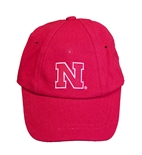 Nebraska Toddler Ball Cap - Red
