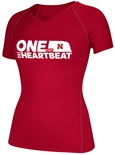 One State N One Heartbeat Give-Back Ladies Vneck