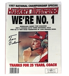 Osborne Autographed 1997 Champs Huskers Illustrated
