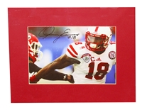 Quincy Enunwa Signed Matted Print
