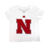 Toddlers Nebraska Fuzzy Tee