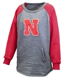 Womens Nebraska Pocket Crew