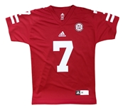 Youth Adidas Red Climalite Fost 7 Jersey-Shirt