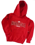 Youth Champ Cornhuskers Hoodie