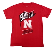 Youth Cornhuskers Game Day Tee