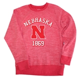 Youth Nebraska Fleece Slub Crew