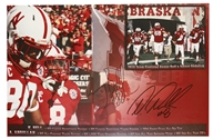 K Bell and Ameer Abdullah Autographed Print