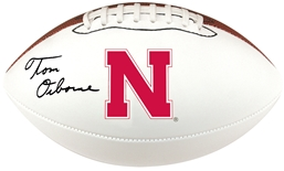 Tom Osborne Signed Husker Football