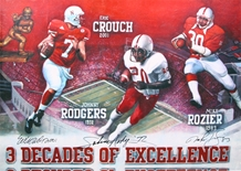 Three Decades of Excellence Heisman Winners Autographed Print