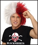 Red/White Crazy Wig