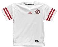 8c9106870 Youth Adidas White Customized Jersey
