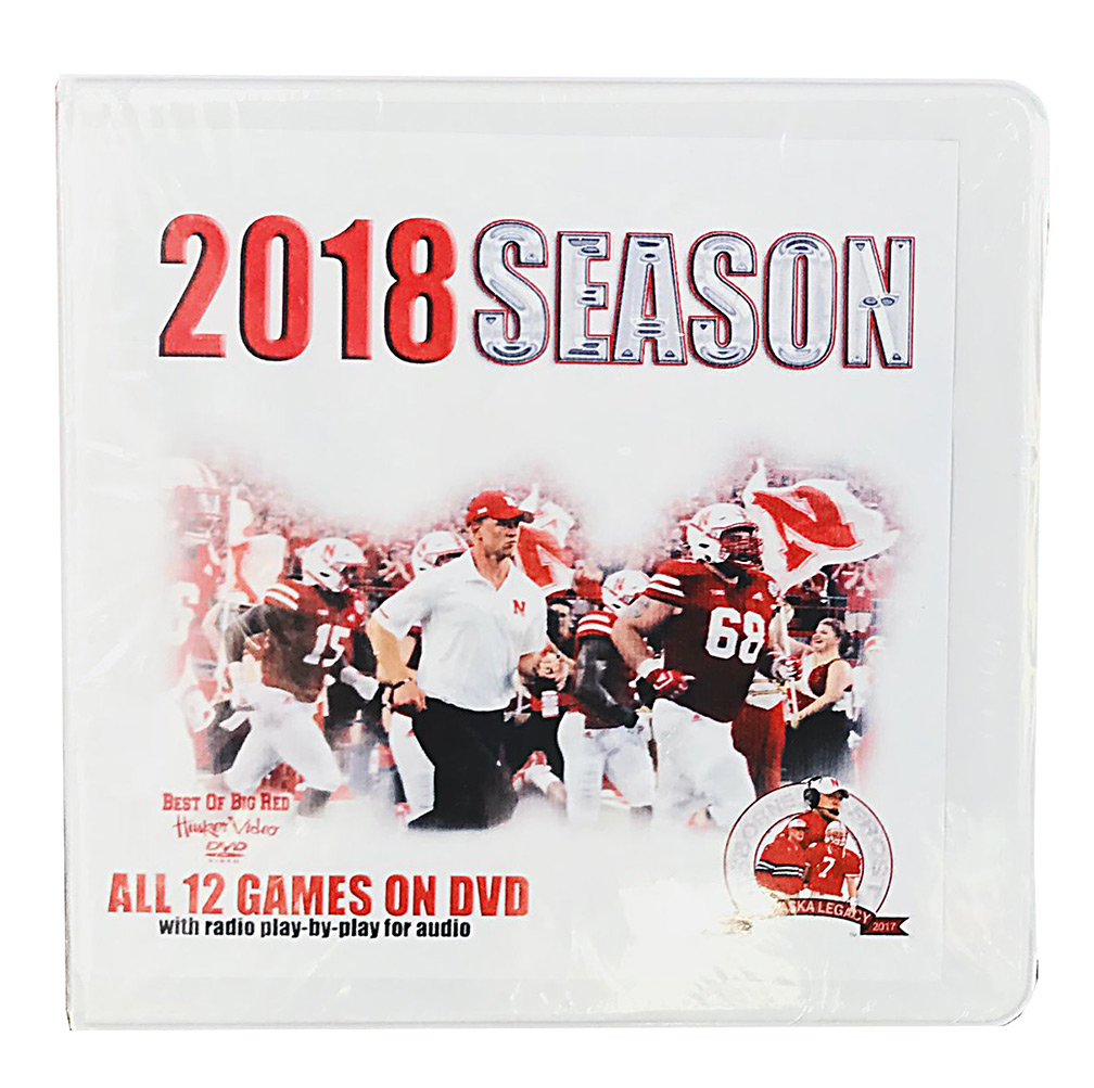 2018 Nebraska Football Season on DVD