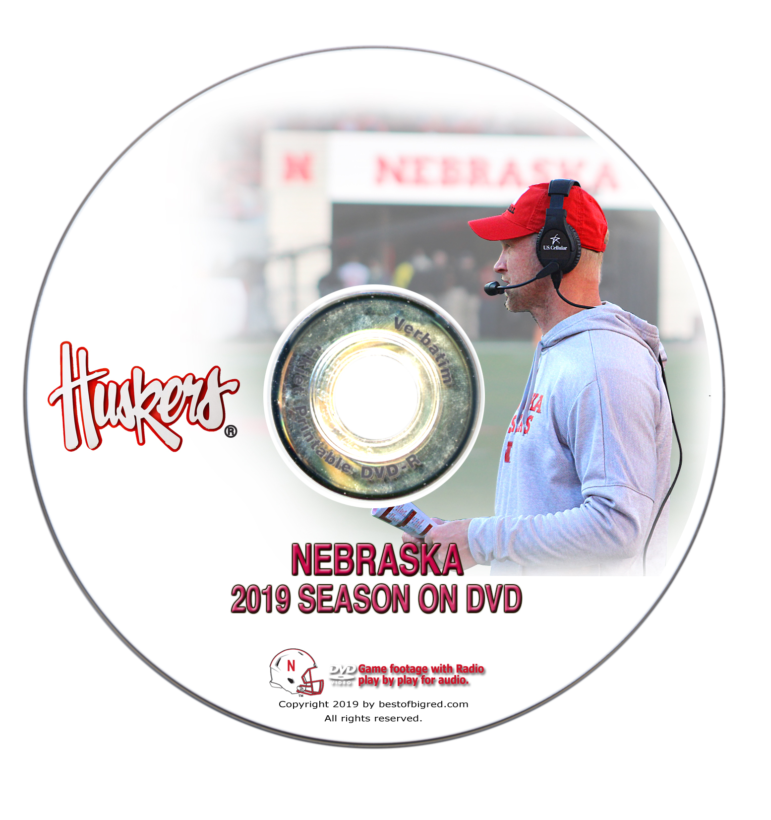 2019 Nebraska Football Season on DVD