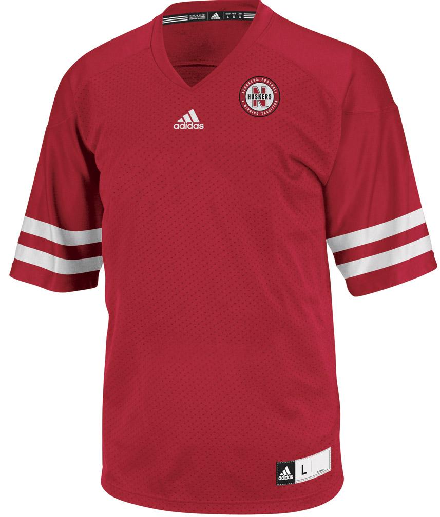 women's husker football jersey