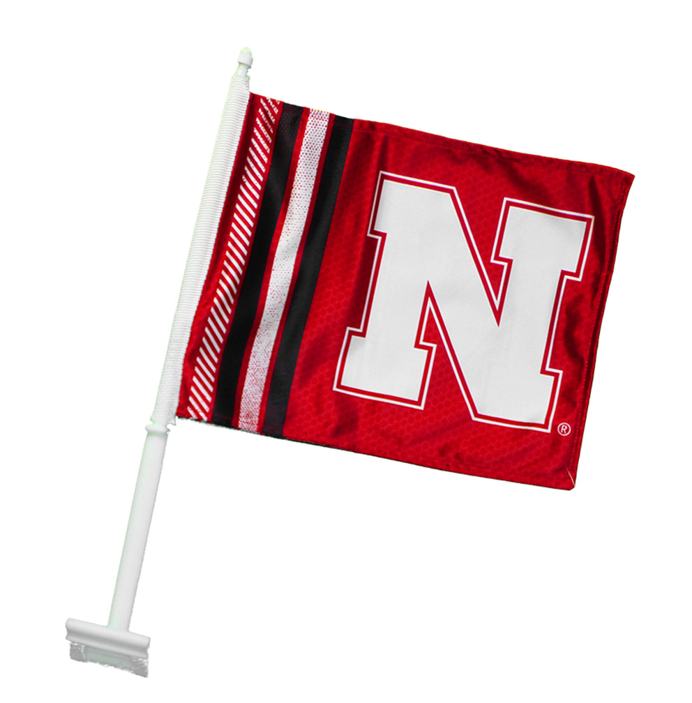 Iron N Car Rally Flag