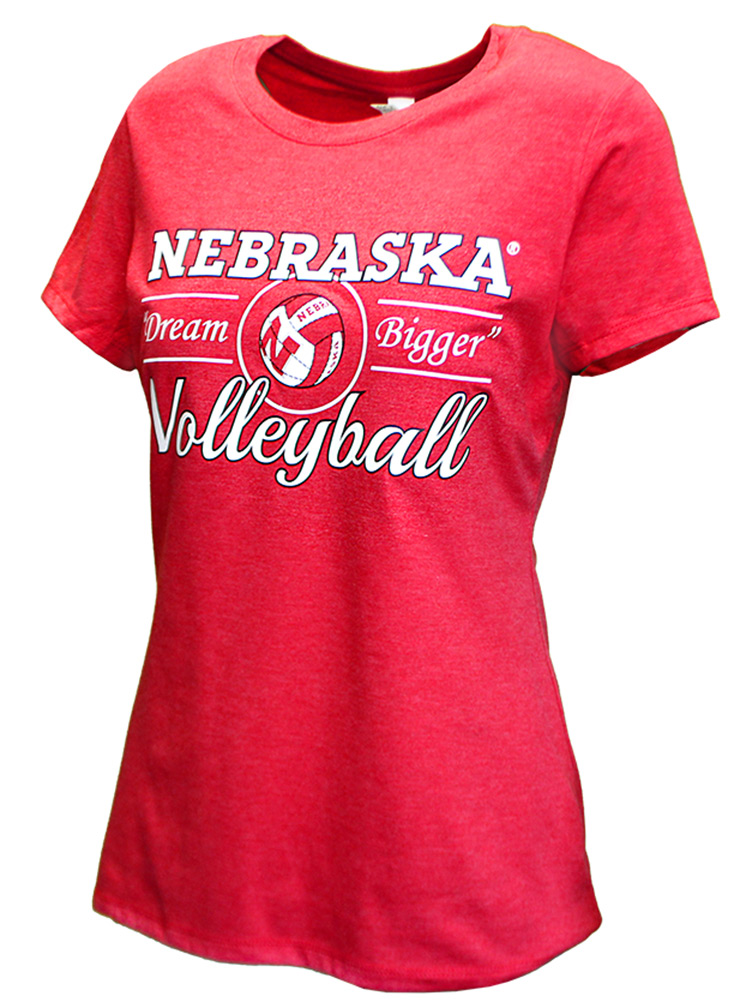 Ladies Dream Bigger Volleyball Tee