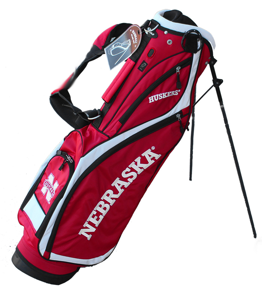 Nebraska Nassau Stand Golf Bag