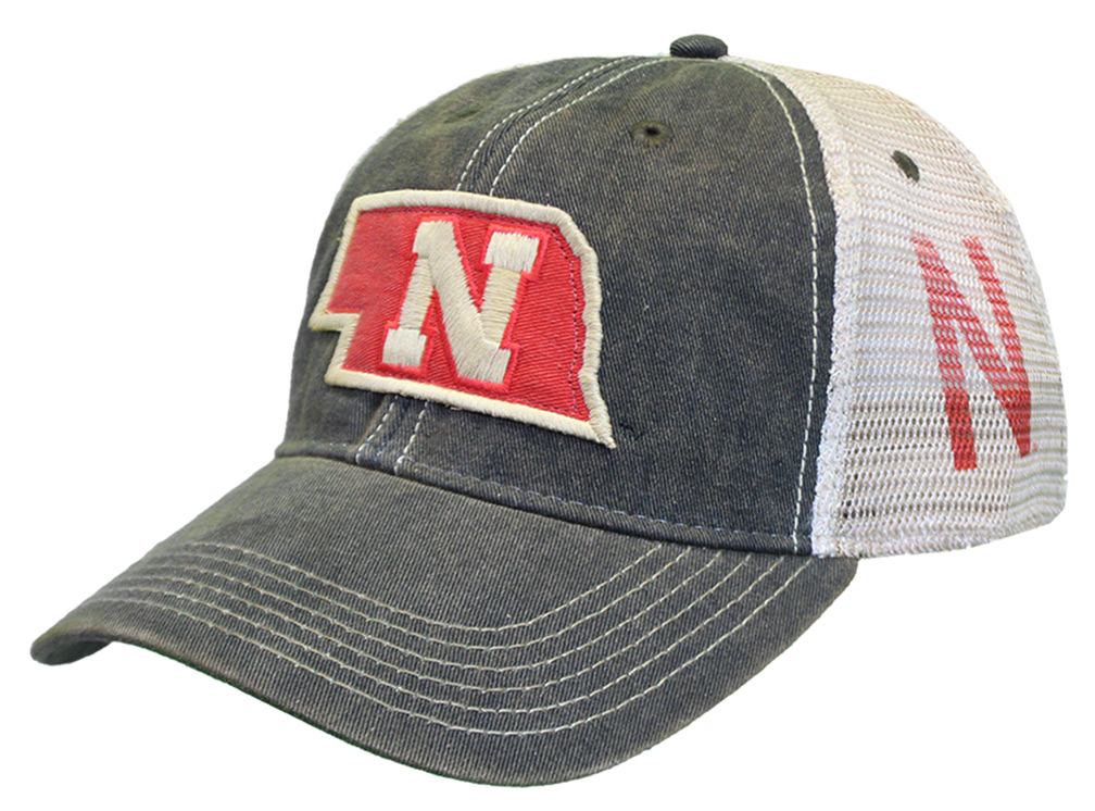 State Of Nebraska Mesh Back Hat