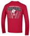 2019 Huskers Schedule Champion L/S Tee - AT-C5120