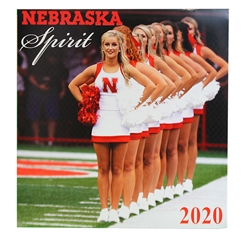 2020 Nebraska Spirit Wall Calendar Nebraska Cornhuskers, Nebraska Books & Calendars, Huskers Books & Calendars, Nebraska  Office Den & Entry, Huskers  Office Den & Entry, Nebraska Volleyball, Huskers Volleyball, Nebraska 2019 Nebraska Volleyball Wall Calendar, Huskers 2019 Nebraska Spirit Wall Calendar