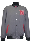 Husker Champs Tricot Reversible Letterman Jacket Nebraska Cornhuskers, Nebraska  Mens Outerwear, Huskers  Mens Outerwear, Nebraska  Mens, Huskers  Mens, Nebraska National Champ Tricot Jacket Franchise, Huskers National Champ Tricot Jacket Franchise