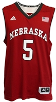 Adidas Huskers Champ B-Ball Jersey #5 Nebraska Cornhuskers, Nebraska  Mens Jerseys, Huskers  Mens Jerseys, Nebraska  Mens Jerseys, Huskers  Mens Jerseys, Nebraska  Basketball, Huskers  Basketball, Nebraska ADIDAS Red Basketball Jersey #5, Huskers ADIDAS Red Basketball Jersey #5